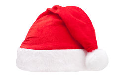 Red christmas cap royalty free stock photography
