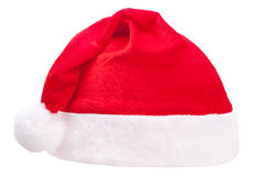 Red christmas cap Stock Images