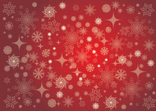 Red Christmas card background for new year and Christmas Royalty Free Stock Photo