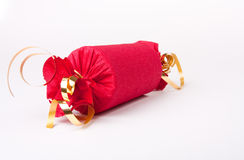 Red Christmas Cracker Royalty Free Stock Image