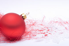Red Christmas decoration Royalty Free Stock Photography