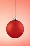Red Christmas decoration Royalty Free Stock Photos