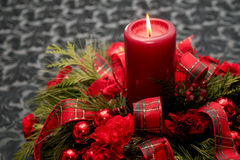 Red Christmas Decoration Stock Images