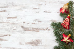 Red Christmas decoration Royalty Free Stock Image
