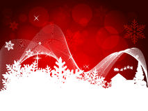 Red Christmas design Royalty Free Stock Photos