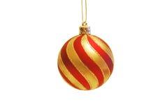 Red Christmas Globe Royalty Free Stock Photos