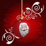 Red Christmas globe Royalty Free Stock Photo