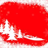 Red Christmas Greeting Royalty Free Stock Images