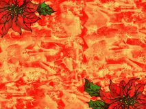Red christmas grunge Royalty Free Stock Images