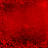 Red Christmas grunge texture background. With snowflakes Stock Image