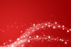 Red christmas illustration Royalty Free Stock Photos