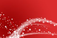Red christmas illustration Royalty Free Stock Photography