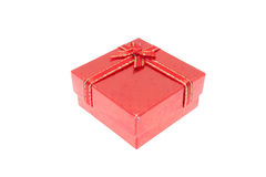 Red Christmas and Important Festival Gift Box Royalty Free Stock Images