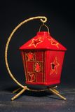 Red Christmas Lantern Stock Photos