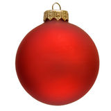 Red christmas ornament . Royalty Free Stock Photography