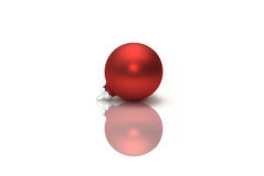 Red Christmas ornament Royalty Free Stock Photos