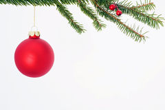 Red Christmas Ornament Stock Images