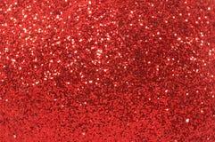Red christmas ornament macro, closeup Stock Photos