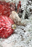 Red Christmas Ornaments Stock Photos