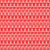 Red Christmas pattern stock photography