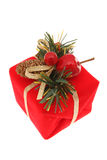 Red Christmas Present Royalty Free Stock Image