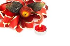 Red Christmas Ribbon Stock Image