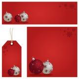 Red Christmas Set