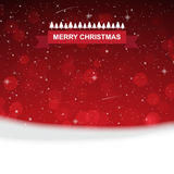 Red christmas with snowflakes background. Rgb mode Stock Image