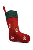 Red christmas sock Stock Photography