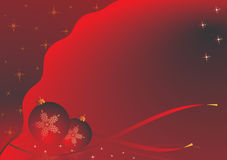 Red christmas theme. Christmas theme. red version with a Christmas motif Royalty Free Stock Images
