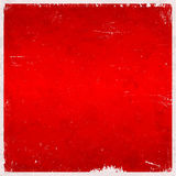 Red Christmas themed grungy background Stock Photo