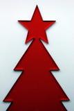 Red Christmas Tree Royalty Free Stock Photo