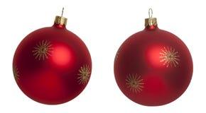 Red Christmas tree ball Stock Photo