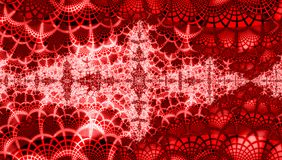 Luxury red christmass background with grenadine and white snowflakes. Red christmass background with grenadine and white snowflakes Royalty Free Illustration
