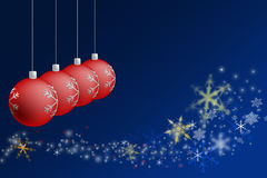Red Chritmas Royalty Free Stock Image