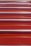 Red and chrome background Stock Photo