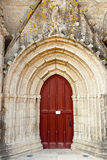 Red church door Royalty Free Stock Photography