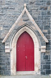 Red church door Stock Image