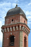 Red church tower Royalty Free Stock Images