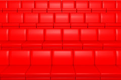 Red cinema seats Royalty Free Stock Photos