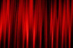 Red cinema valance Stock Photography
