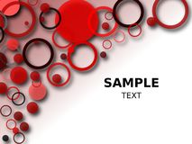 Red Circle Background Royalty Free Stock Photo