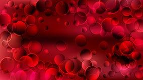 Red Circle Heart Background Beautiful elegant Illustration graphic art design Background. Image vector illustration