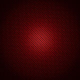 Red circle pattern Stock Images
