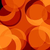 Red circles. Abstract red background with some circles on it Royalty Free Stock Images