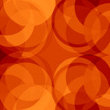 Red circles. Bright red background with some circles in it Royalty Free Stock Photos