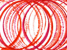 Red circles Royalty Free Stock Photo