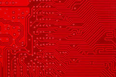Free Red Circuit Board Texture Background Of Computer Motherboard Royalty Free Stock Photos - 84576398
