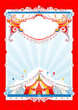 Red circus frame Royalty Free Stock Images
