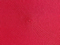 Red Cirles Background. Circular repeating patterns of red texture with scanning light highlights Royalty Free Stock Photos